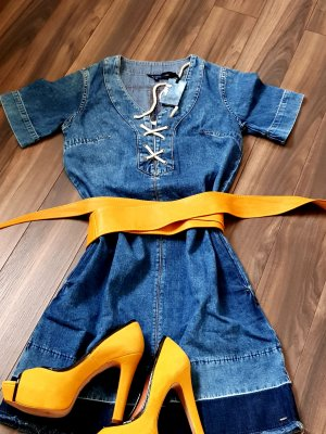 Pepe Jeans Vestido vaquero azul aciano