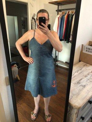 Denim Dress dark blue
