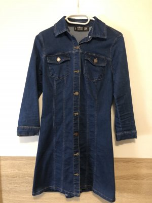 Denim Co. Abito denim blu