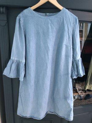 Zara Robe en jean bleuet lyocell
