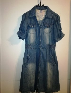 Madonna Denim Dress blue