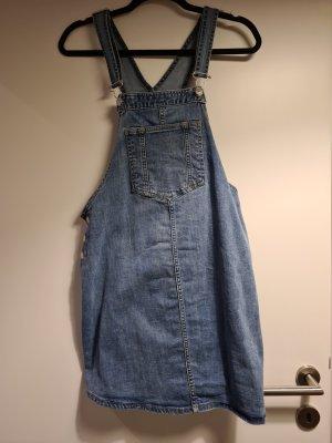 H&M Vestido vaquero azul aciano tejido mezclado