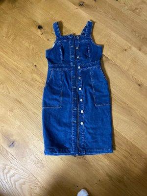 Warehouse Vestido vaquero azul
