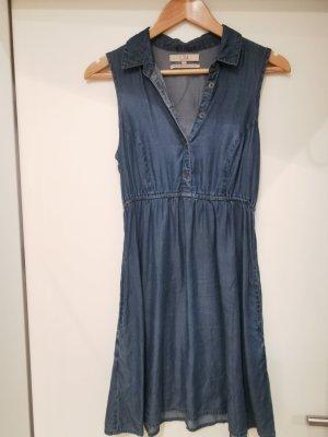 C&A Clockhouse Robe en jean bleu foncé