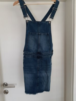 Bib Denim dark blue mixture fibre