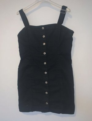 H&M Denim Dress black