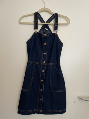 H&M Jeansjurk blauw