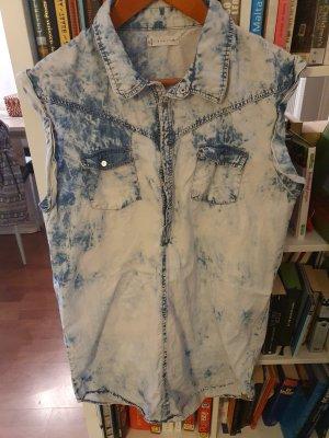 Rusty Denim Dress pale blue