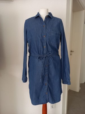 Abercrombie & Fitch Jeansjurk blauw