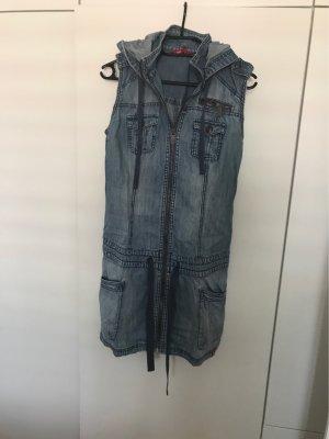 Jeanskleid ärmellos