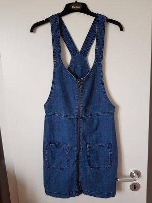 H&M Robe en jean bronze-bleu