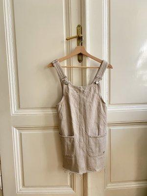 Jeanskleid beige