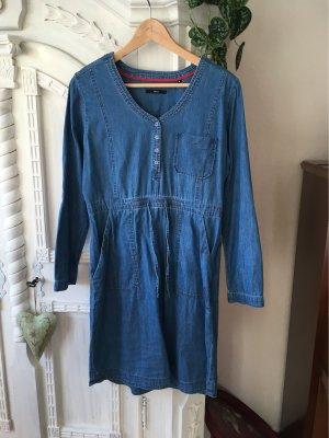 Zero Jeansowa sukienka niebieski