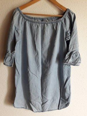 Jeanskleid. blau.