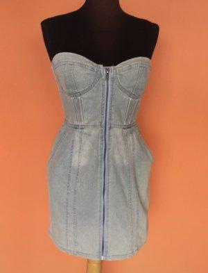 H&M Robe en jean multicolore
