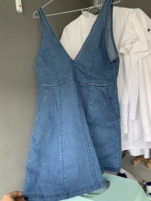 H&M Divided Robe en jean bleu