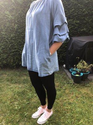 Zara Woman Jeansjurk azuur