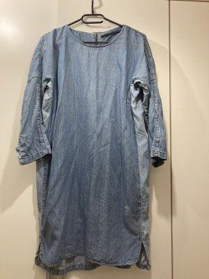 Just Female Jeansowa sukienka błękitny