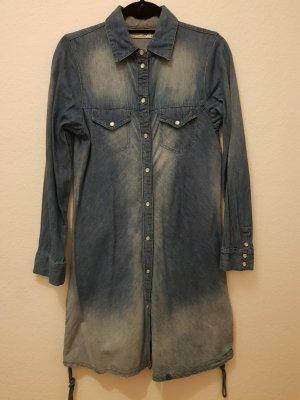 Vestido vaquero gris pizarra-azul