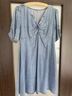 Hennes Collection by H&M Vestido babydoll gris pizarra