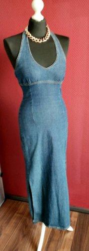 Mohave Jeansowa sukienka niebieski Tkanina z mieszanych włókien