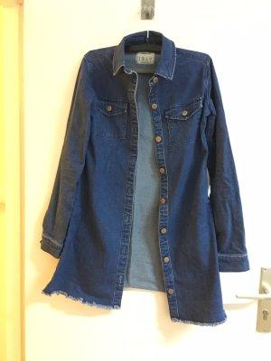 H&M Vestido vaquero azul acero-azul aciano