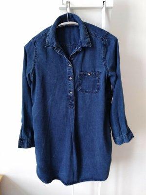 Jeansowa sukienka niebieski