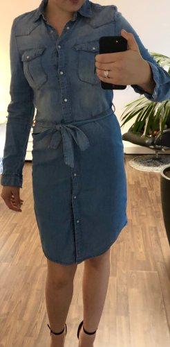 Jeansowa sukienka błękitny