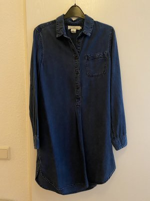 H&M Robe en jean bleu foncé