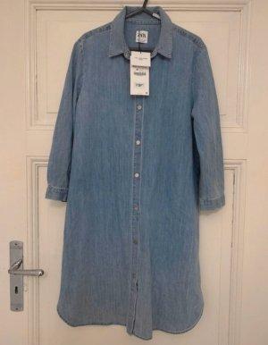 Jeanskleid langes Jeanshemd