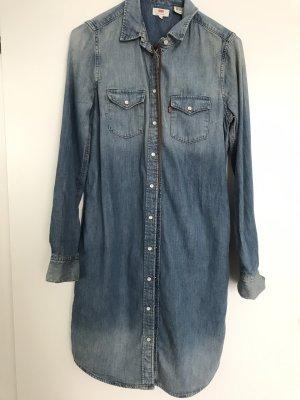 Levis Robe en jean bleu