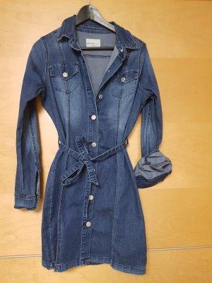 Orsay Koszulowa sukienka stalowy niebieski