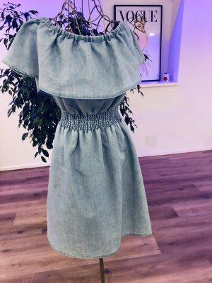 Colloseum Jeansowa sukienka niebieski