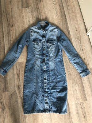 Lily Allen x Vero Moda Denim Dress dark blue