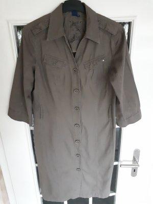 Cecil Jeansjurk grijs-bruin