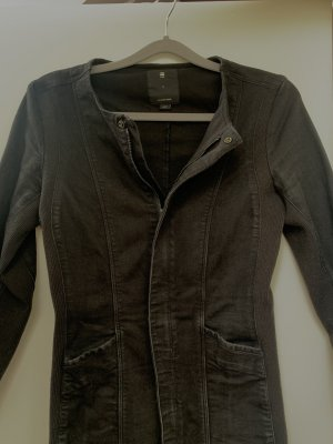 Jeanskleid schwarz