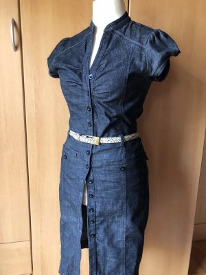 JeansKleid schwarz sehr figurbetont