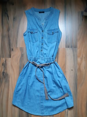 Jeanskleid/Sommerkleid mit Gürtel