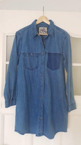 Superdry Jeansowa sukienka niebieski