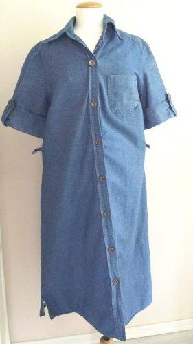 C&A Robe en jean bleu coton