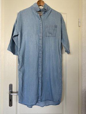 COS Jeansowa sukienka jasnoniebieski-błękitny