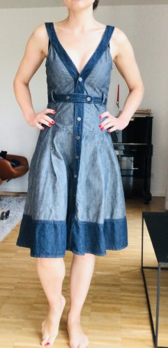 Diesel Robe en jean bleu