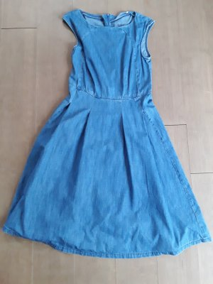 edc by Esprit Denim Dress cornflower blue cotton
