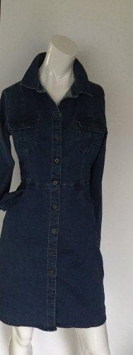 edc by Esprit Robe en jean bleu foncé
