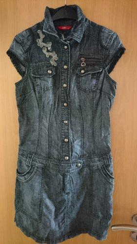 edc Jeansjurk donkerblauw