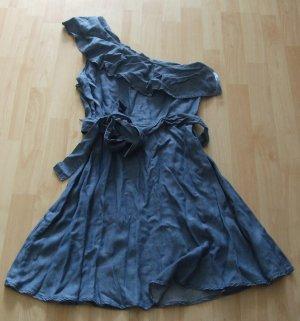 Jeanskleid von Michael Kors - One Shoulder - Gr. 40