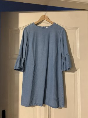 Zara Jeansjurk blauw