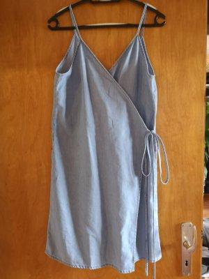 Jeanskleid, Wickelkleid, Sommerkleid, H&M, Größe 38