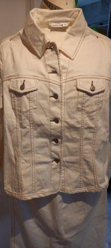 Jeanskostüm weiß