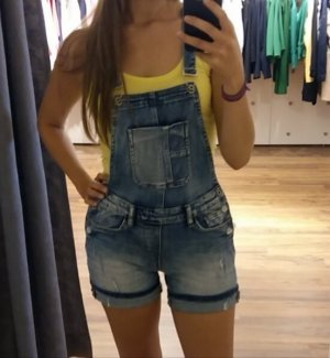 Chilli Dungarees cornflower blue